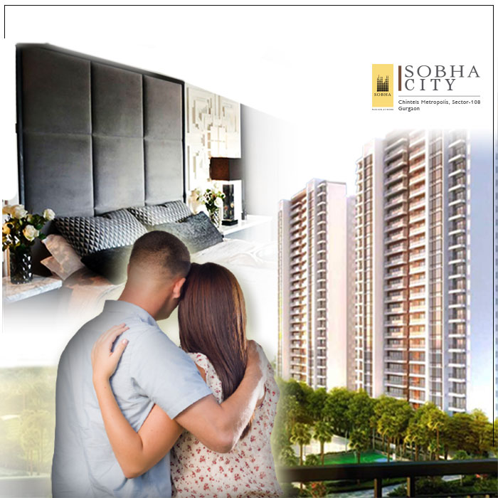 How many things you should consider while watching a sample flats  in Sobha city Gurgaon ?