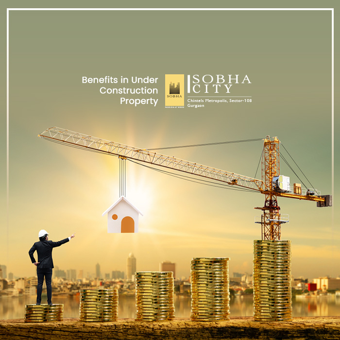 What all benefits you can hope for in under construction property Sobha city Gurgaon?