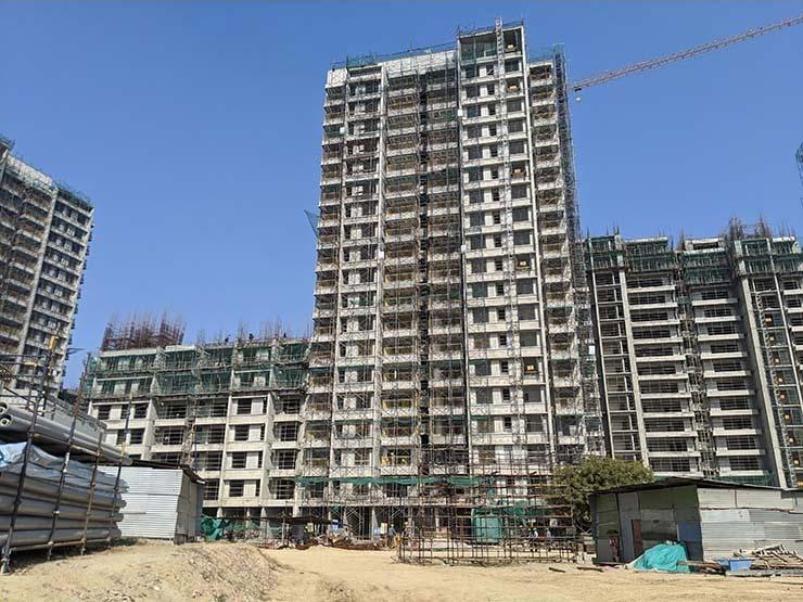 Construction update of Sobha City Gurgaon